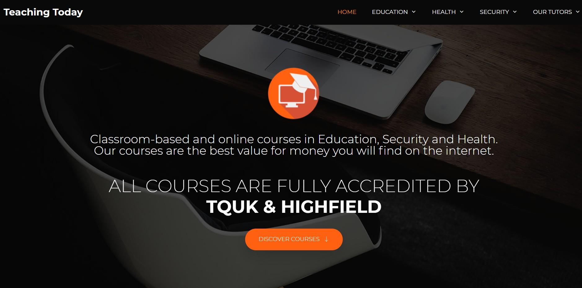 teaching today homepage